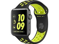 APPLE WATCH SERIES 2 42MM NIKE SPORT BAND (BLACK/COOL GRAY)