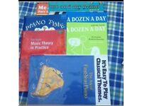 Starter piano books