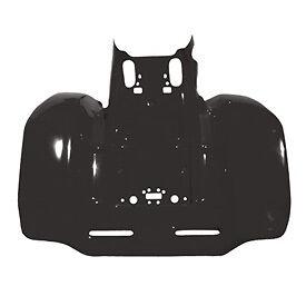 Honda Trx250r Trx 250r Rear Atv Fender Plastic Black