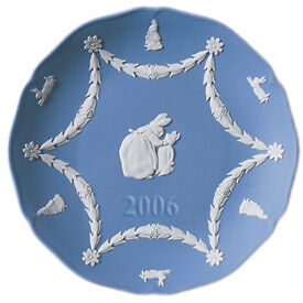 WEDGWOOD JASPER PETER RABBIT ANNUAL 2006 PLATE NEW