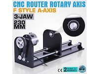 Cnc Router Rotary Axis With 80mm A-Axis 3-Jaw Accessory Attachment, Never used, very good price