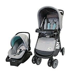 Travel system with extra car seat base