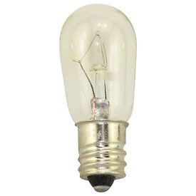 NEW-Box-of-10-Bulbs-6-Watt-24-Volt-Screw-Base-E12-Clear-6S6-24V