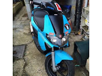 Gilera runner 125 + 210 engine with it. New shape, low miles , long mot and tax, pics soon £875 ono