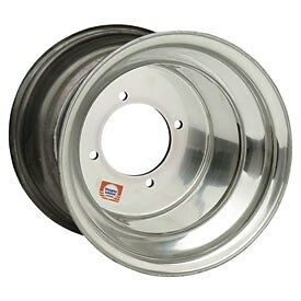 (2) Rims Wheel Rear Aluminum SUZUKI LT500 Quadracer QuadZilla  .019 Thick 10X9