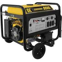 NEW BE Pressure 9000 Watt Portable Gas Generator BE-9000ERUSC