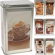 Kaffeedose Metall