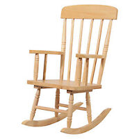 Solid Wood Canadian Made Maple/Pine Kids Rocking Chair