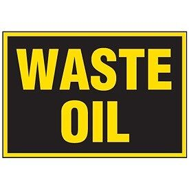Someone to pick up waste oil