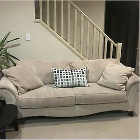 2 Beige Couches