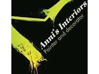 Experienced female painter and decorator