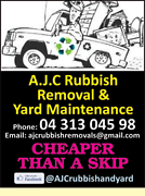 A.J.C Rubbish Removals AND YARD MAINTENANCE Maroochydore Maroochydore Area Preview