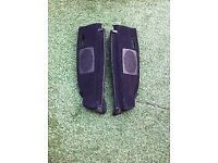 *** Mk2 Vw Golf GTI 90 Spec Black Carpeted Parcel Shelf Supports *** £30