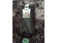 Brand New Dublin Flexi leather chaps black size medium