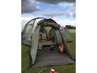 Huge 9 Man 3 bedroom living room Royal Biarritz 9 tent - As seen on UK Campsite