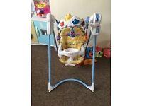 Fisherprice flutterbye swinging chair