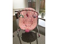Chad Valley Friends Deluxe Bouncer pink