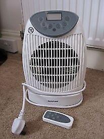 Fan heater with remote control SilverCrest SHLF 2000 A1