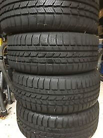 Tyres 165/70/R14 some Michelin, some Firestone, some still on reems