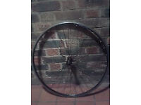 Shimano R500 R501 lightweight front wheel road race direct pull fast low profile qr 700c clincher