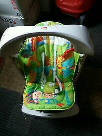 Fisher price vibrating baby swing