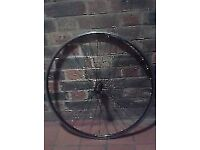 Shimano R500 R501 700c front wheel road race lightweight direct pull fast low profile qr clincher