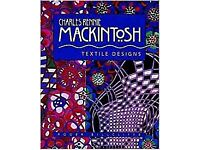 Charles Rennie MACKINTOSH, Textile Designs. Hardcover book. NEW sealed.