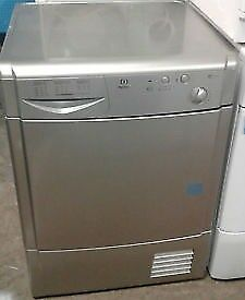 12 Indesit IDC85 8kg Silver Condenser Tumble Dryer 1 YEAR GUARANTEE FREE DELIVERY