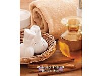 Nuad Thai boran spa -Medical Thai massage hot oil massage , hot stone back pain massage