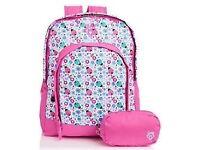 Gola Girls Ladybird Backpack Rub Red/White.. brand new