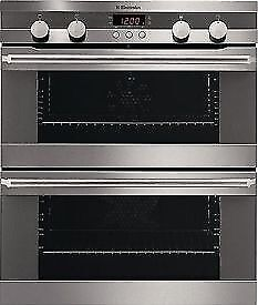Electrolux Inspire Electric Built Under Double Oven Stainless steel EOU43003X