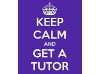 Experienced tutor: teaches wide range of subjects, across all boards from A-Level to KS2, can travel