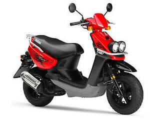 Yamaha scooter 2006 BWS with helmets