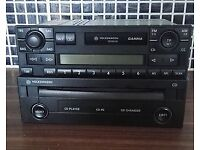 Genuine Volkswagen CD PLAYER And CASSETTE PLAYER