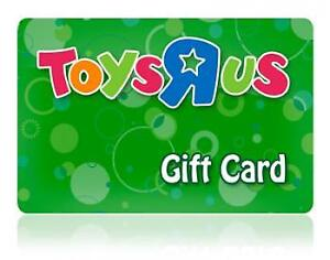50$ toys r us giftcards 1/2 off