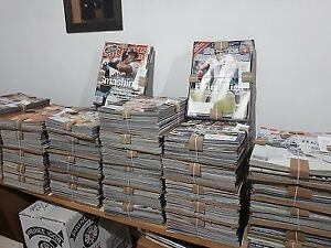 Sports Illustrated.......600 copies plus