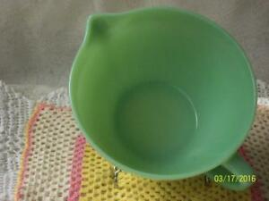 Vintage Fire King Jadeite/Jadite Batter Mixing Bowl