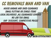Van and man / garden maintenance
