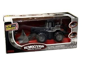 NEW: New Bright Wheels Demolition Wrecking Company RC Loader