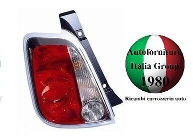 FANALE FANALINO STOP POSTERIORE SX BIANCO - ROSSO FIAT 500 07> 2007>