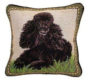 Needlepoint Dog Pillow Ebay