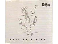 """BEATLES """"free as a bird"""" Original 1995 4 tracks CD"""