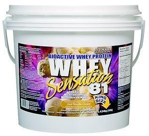 PROTEINE WHEY SENSATION 81 - 6.6 LBS BONUS SIZE - ULTIMATE NUTRITION