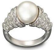 Swarovski Perlen Ring