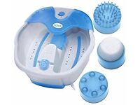Scholl deluxe foot spa