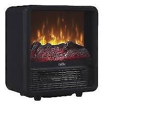 Twin-Star Home CFS-300-RED Personal Electric Space Heater Cube
