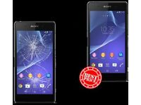 Sony Xperia Screen Repair Service Birmingham - Fast Turnaround time +12 Months Guarantee!