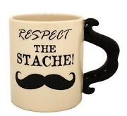 Mustache Coffee Cup
