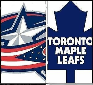 Maple Leafs vs Columbus....Valentine's Day.....4 Tix Available!