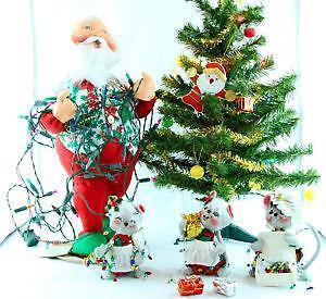 annalee christmas santa - Annalee Christmas Decorations